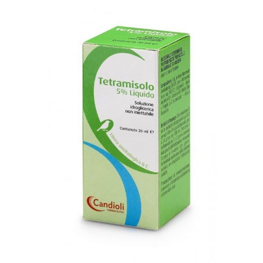 Tetramisole 5% Liquid Candioli 20ml