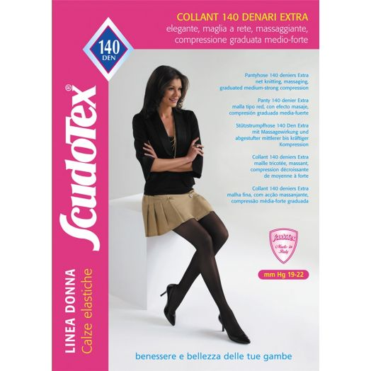 140 Denier Extra Scudotex Tights 1 Pair