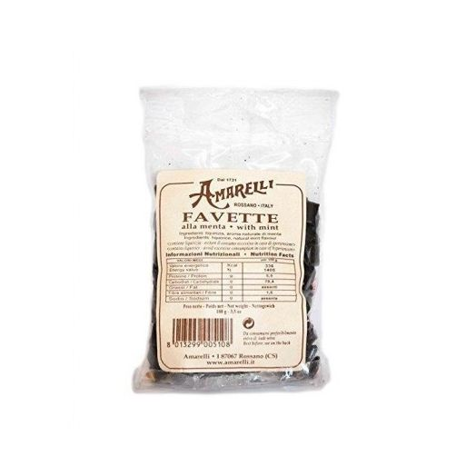 Mint Licorice Favette In Bag Amarelli 100g