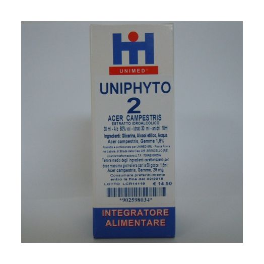 Unimed Uniphyto 2 Acer Campestris Homeopathic 30ml
