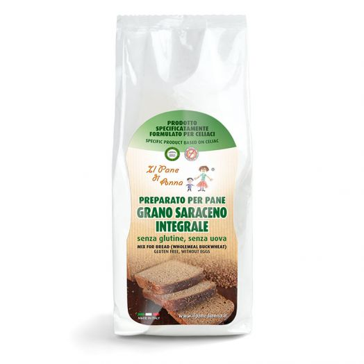 The Bread of Anna Integral Buckwheat Flour 500g