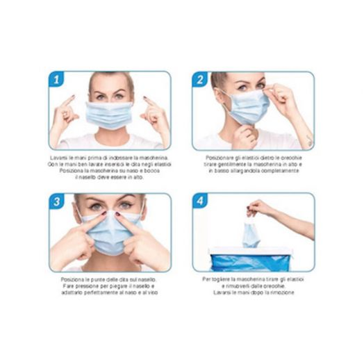 Disposable Surgical Mask FFP2 10 Pieces