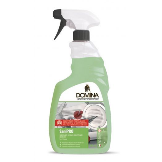 SaniPRO Disinfectant Surfaces and Environment Unscented Spray Domina 750ml