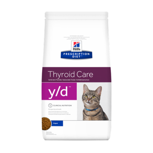 Prescription Diet Thyroid Care Feline Y / d 1,5kg