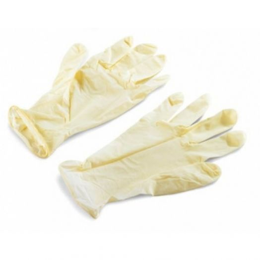 Farvisan Latex Glove Sans Poudre Taille Moyenne 100 Pieces