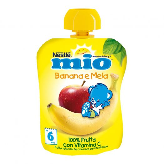 Nestle Mio Fruit Banana y Apple Drink 90ml