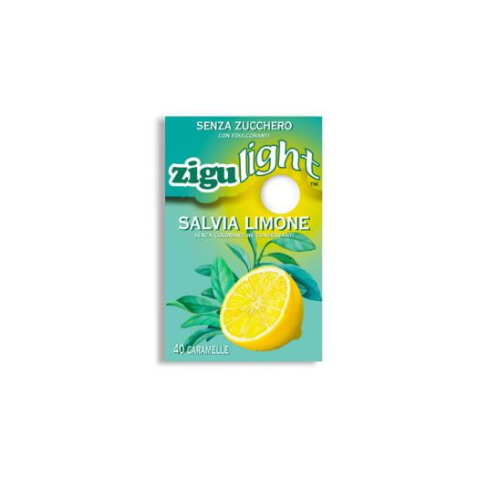 Ziguli Zigulight Sage Lemon Susigkeit Sugar Free 40 Stuck