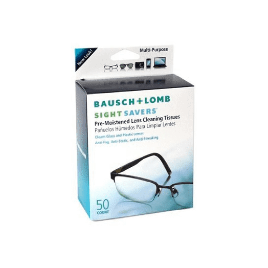 Sight Savers Bausch & Lomb Lens Wipes 50 Pieces