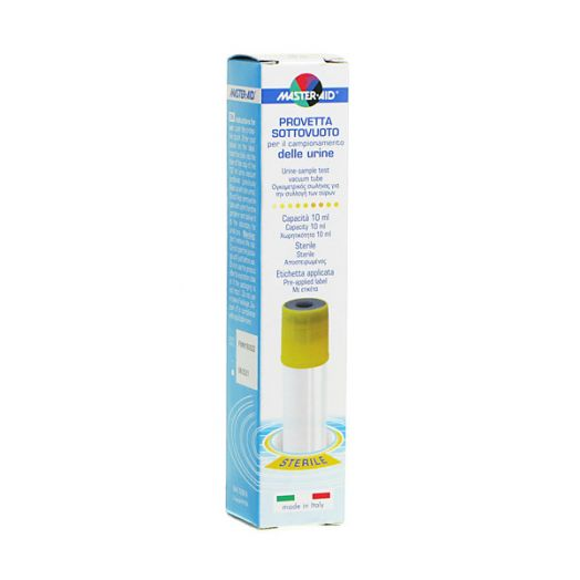 MasterAid vide Tube sterile 10ml de prelevement d'urine