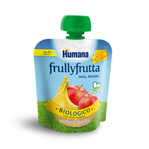 Humana Frullyfrutta Apple Banana 90g