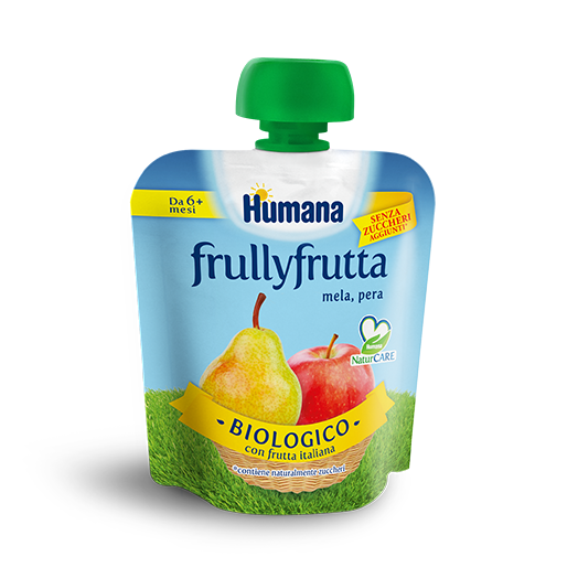 Humana Frullyfrutta Apple Pear 90g