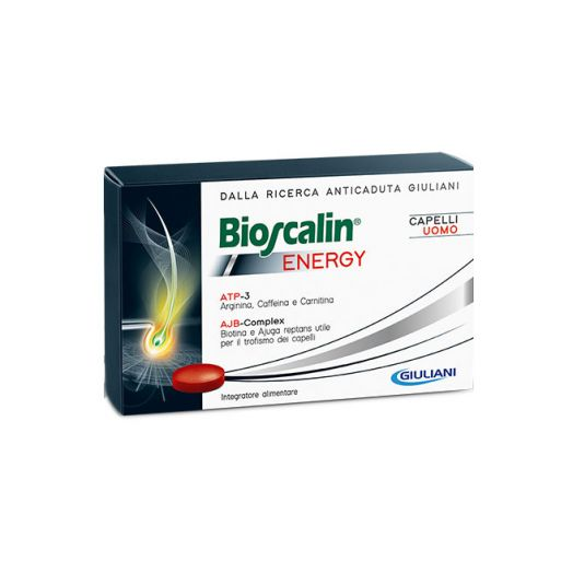 Supplement alimentaire Bioscalin Energy Man Hair 30 Comprimes
