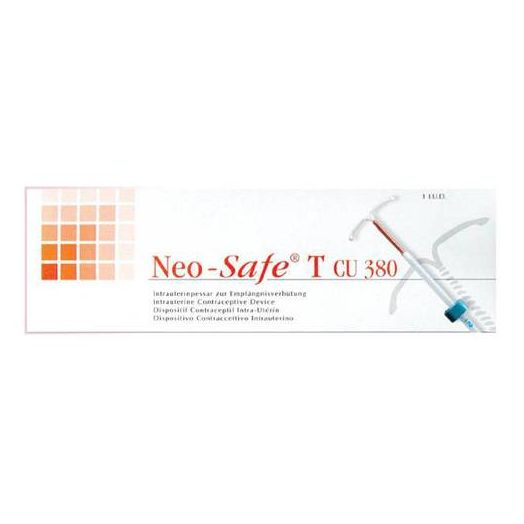 Neo-Safe T Cu 380 Mini dispositivo anticonceptivo intrauterino