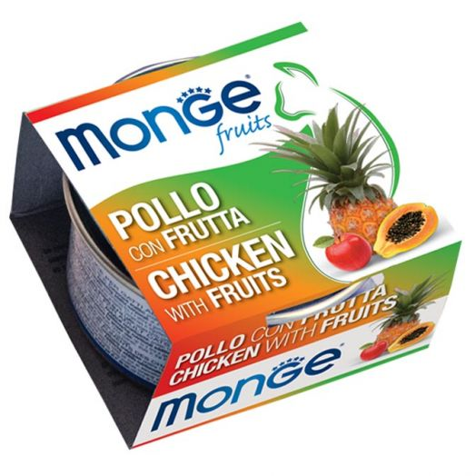 Monge Fruits Chicken With Fruit 80g