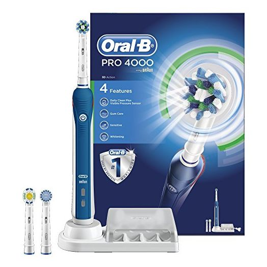 Oral-B 3D PRO 4000 Electric Toothbrush