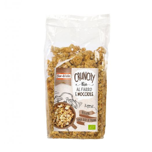 Fior Di Loto Crunchy With Organic Spelled And Hazelnuts 375g