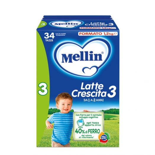 Mellin Milk Growth 3 6x1l
