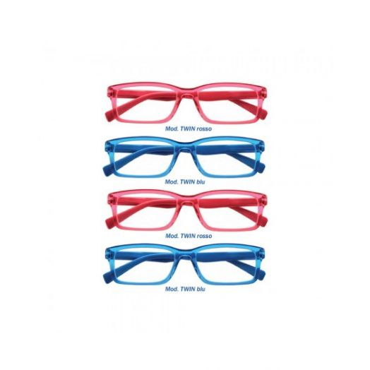 ProntiXte Twin3 Reading Glasses Dioptres 2.50 8 pares