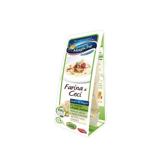 Ipafood Organic chickpea flour without gluten 100g