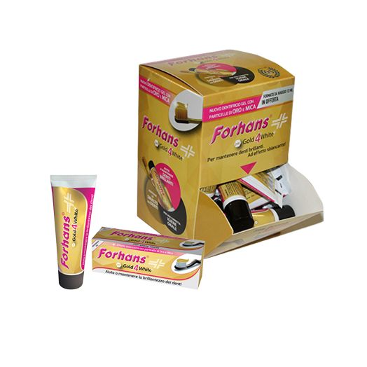 Forhans Gold 4 White Toothpaste 75ml