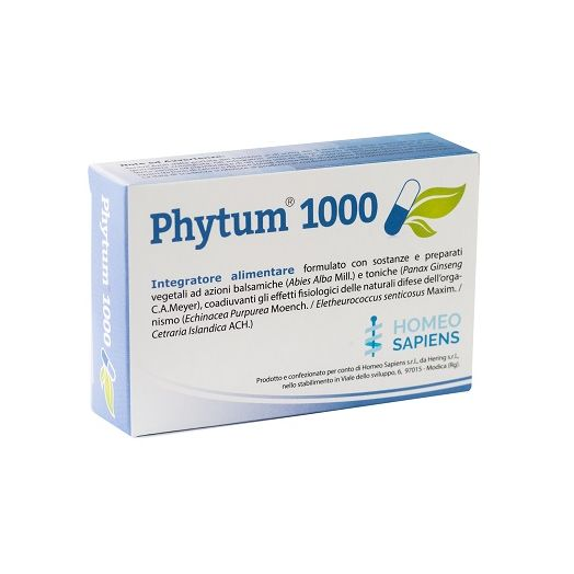 Phytum 1000 30 cps 500 mg