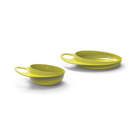 Nuvita Easy Eating Bowl Enfants Couleur verte 1 piece