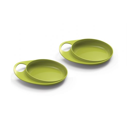 Nuvita Easy Eating Kids Couleur Vert Plat