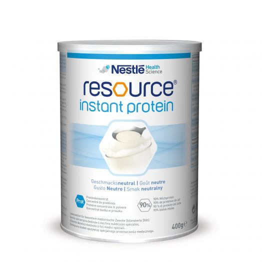 Nestle Health Science Resource Instant-Protein-Pulver-Integrator mit Milchprotein 400g