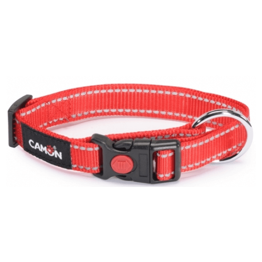 Camon Collar Lowtension R15mm Red 1 Piece