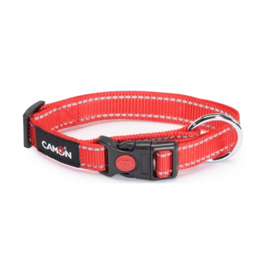 Camon Collar Lowtension R25mm Red 1 Piece