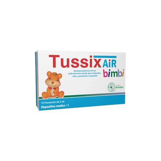 Nutriphyt Tussix Air Children Hypertonic Solution 10 Vials 5ml
