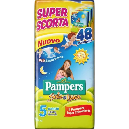 Sole & Luna Pampers Junior Size 48 Diapers