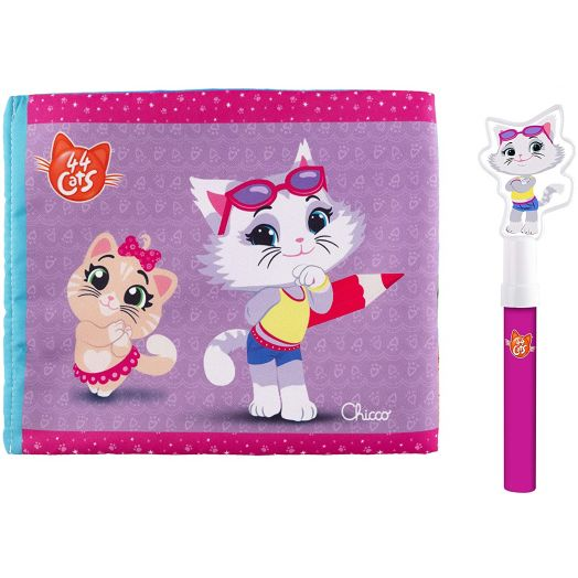 Coloring Book Milady 44 Cats Chicco Game