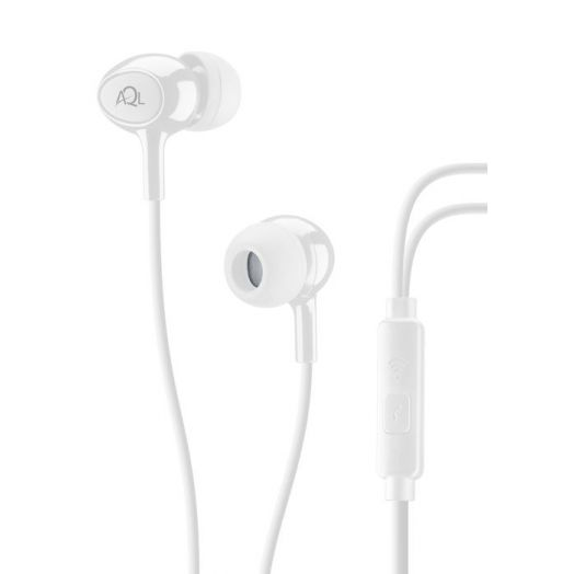 AQL Acoustic Pump Bass In-Ear Cellularline White 1 Pair