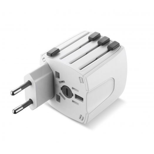 World Travel Adapter Universal Cellularline 1 Travel Adapter
