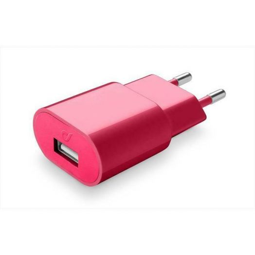 Usb Charger 2A Red Cellularline 1 Red Charger