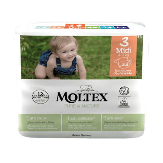 Moltex Pure&nature Md 4-9kg T3