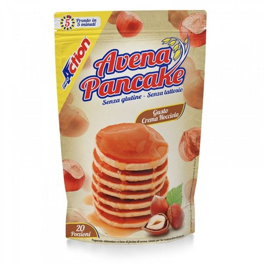Oat Pancake Hazelnut Cream ProAction 20 Portions