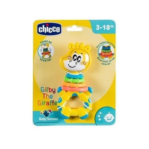 Gilby The Giraffe CHICCO 3-18 Months