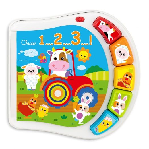 Counting Farm Baby Senses CHICCO 6-36 Months