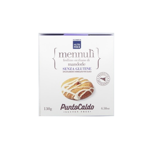 MennulA! Sicilian Shortbread With Almonds Hot Point 130g