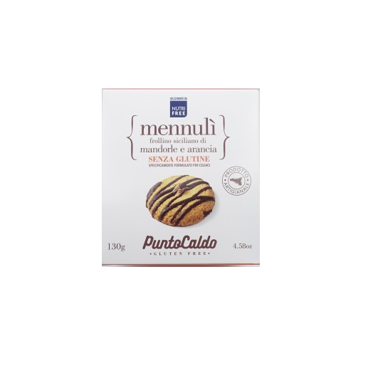 MennulA! Sicilian Shortbread With Almonds And Orange Hot Point 130g