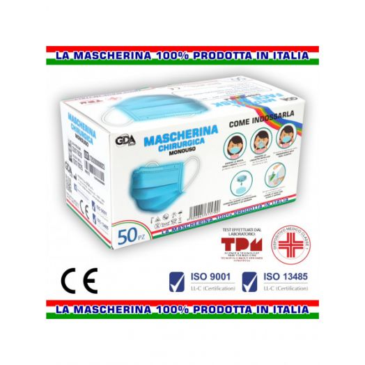 Surgical Mask Gda-Mask 01 50 Pieces