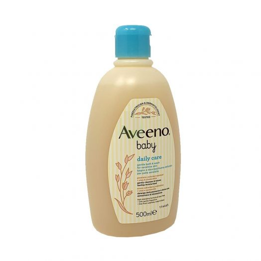 Aveeno Baby Delicate Bath And Shower Gel Daily Care 500ml