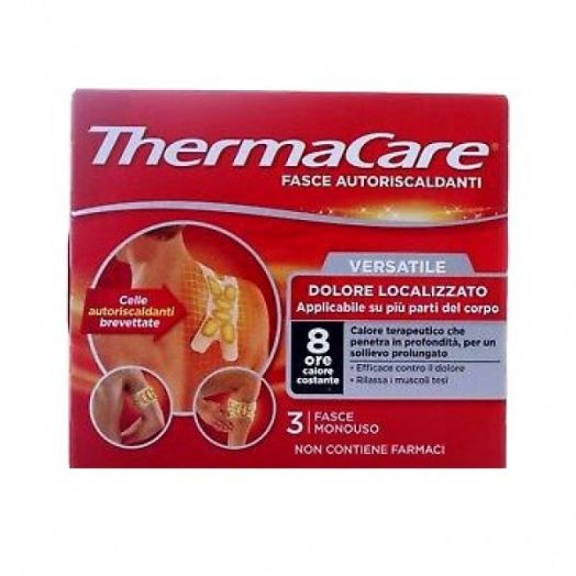 Versatile ThermacareA(R) 3 Bands Self-Heating Bands