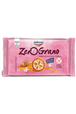 ZeroGrano Shortbread With Flowers Honey Gluten Free 260g