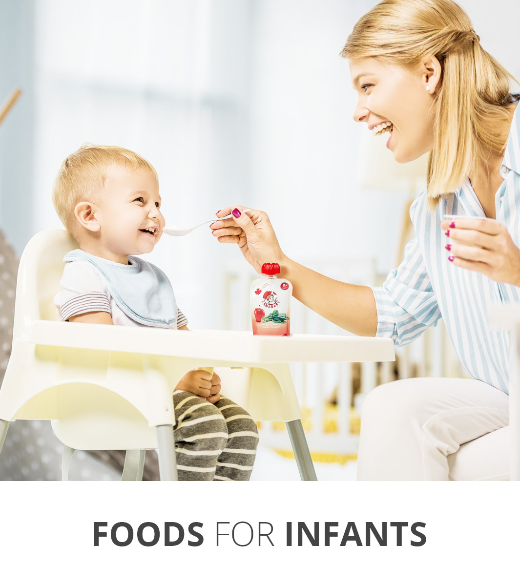 Food for infants
